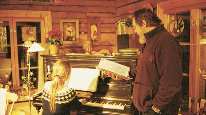Lappland: Weiße Weihnachten