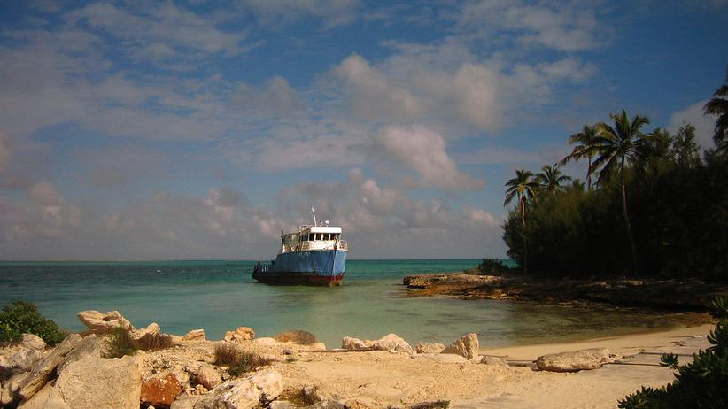 Westindische Inseln: Bahamas in der Rostklasse