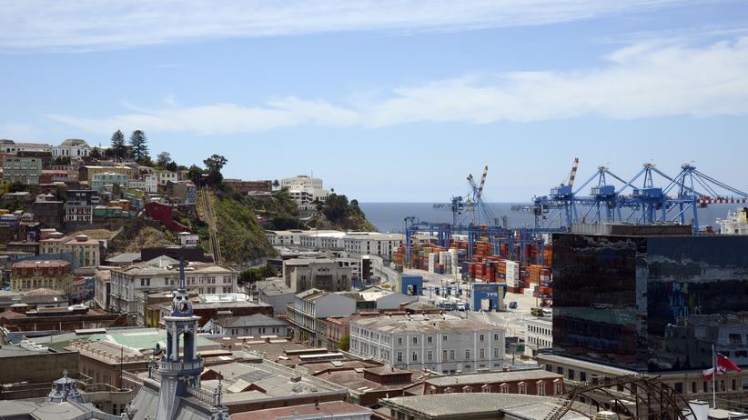 Valparaíso, wo es Joghurt regnet