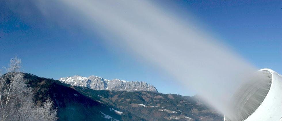 Skifahren Ökologie