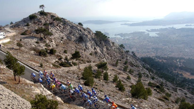 Radfahren in Südfrankreich: Frau Igel auf der Überholspur