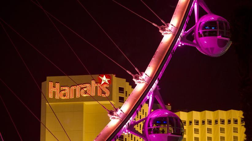 Las Vegas: Pink ist die Stadt, grell und groß