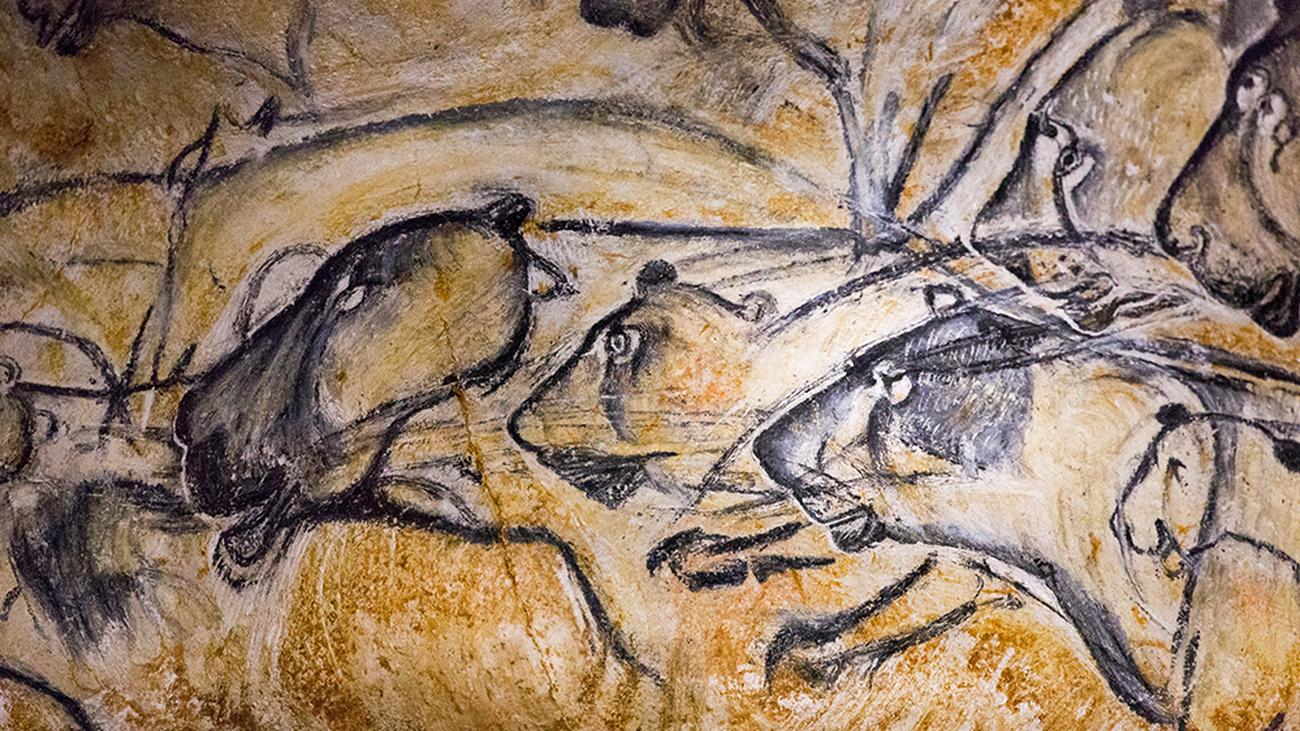 Classic Man Cave Painting : Chauvet höhle franz marc in der altsteinzeit zeit online
