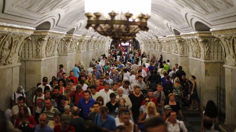 Moskau: Drunter und drüber
