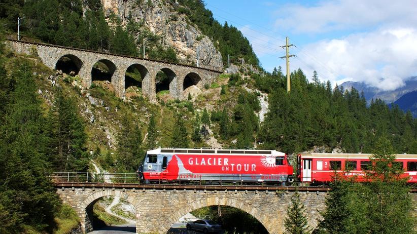 Schweiz: Der Zug ist das Ziel
