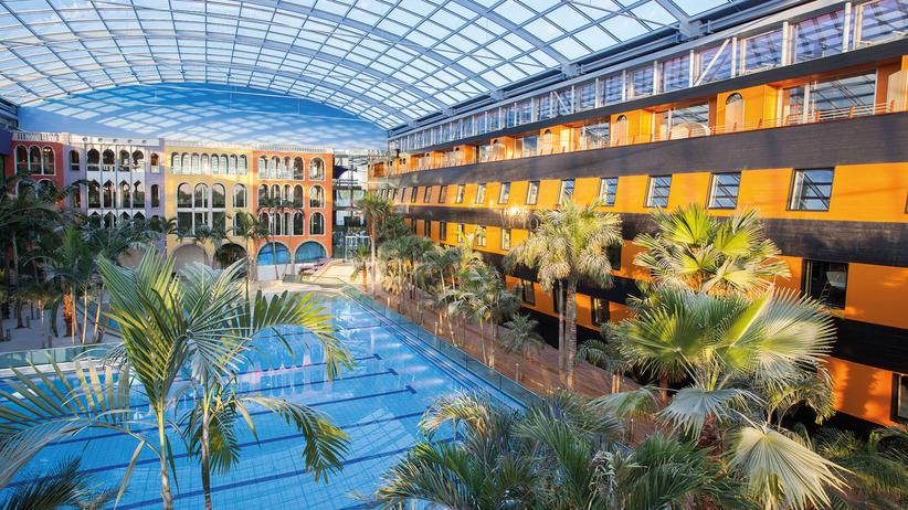 Therme Erding: Dresscode: Bademantel