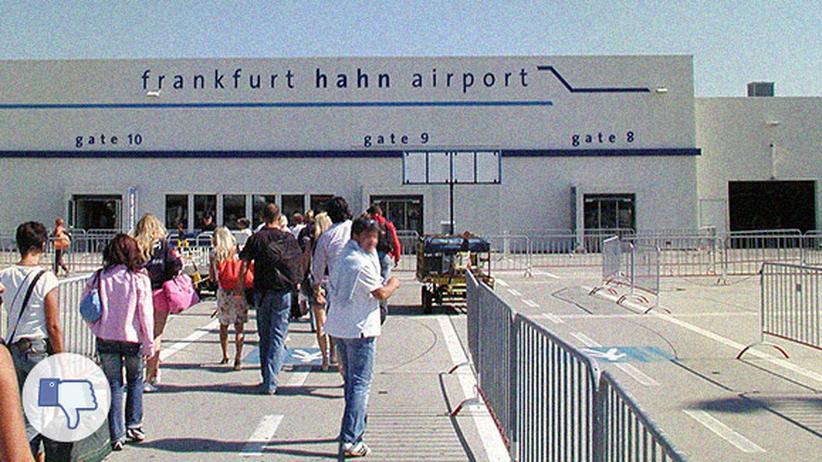 Flughafen Frankfurt-Hahn: Kommt mal runter!