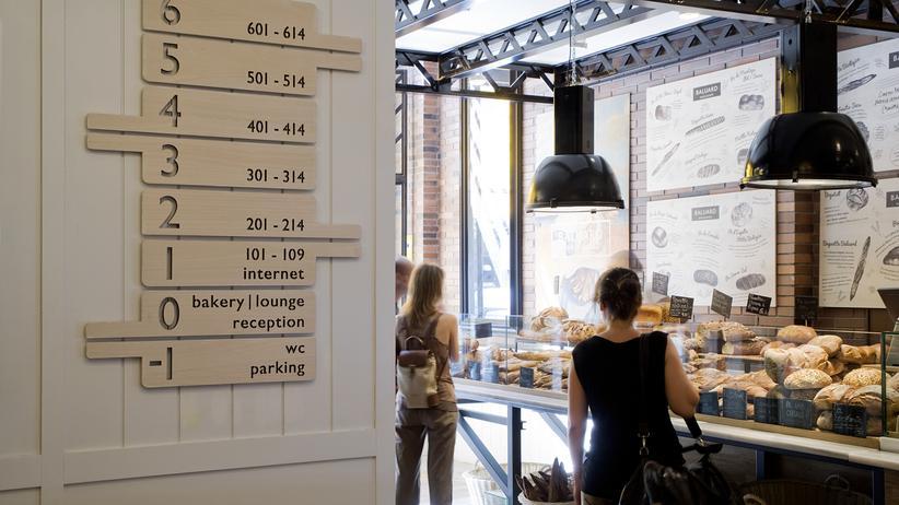 Praktik Bakery Barcelona: Zwei Baguettes und ein Zimmer bitte