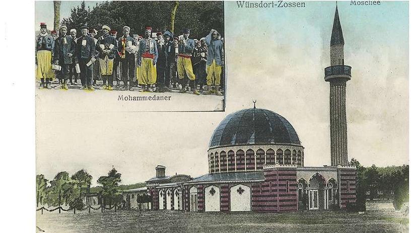 Reisen, Erste deutsche Moschee, Brandenburg, Moschee, Wilhelm II., Dschihad, Islam, Zwangsheirat, Indien, Türkei, Oppenheim, Jerusalem