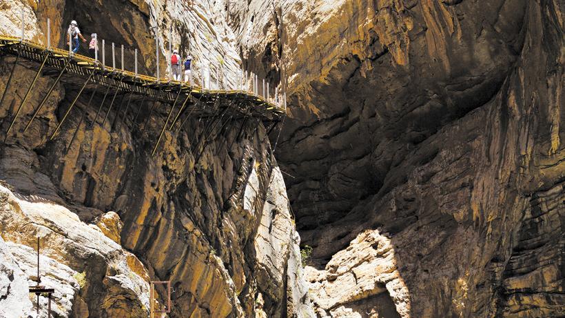 Klettersteig Caminito Del Rey : Caminito del rey: balance über dem abgrund zeit online