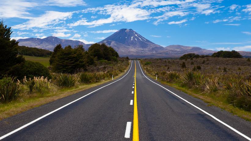 "Neuseeland: ""Schau nach rechts, halt dich links!"""