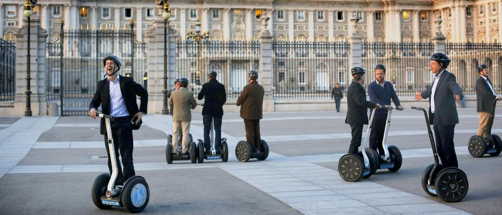Madrid: Segway to heaven