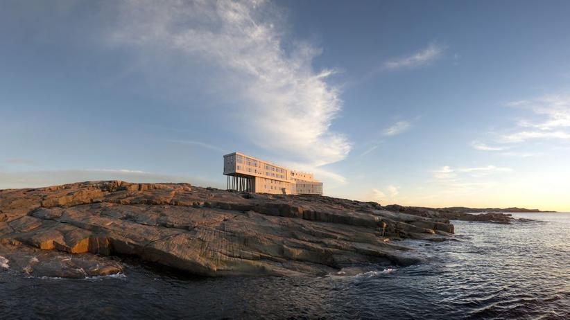 Neufundland: Statt einer Fischerhütte
