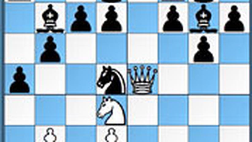 Schachlösung aus Nr. 12
