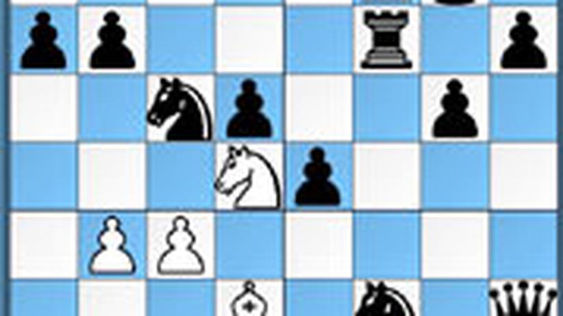 Schachlösung aus Nr. 22