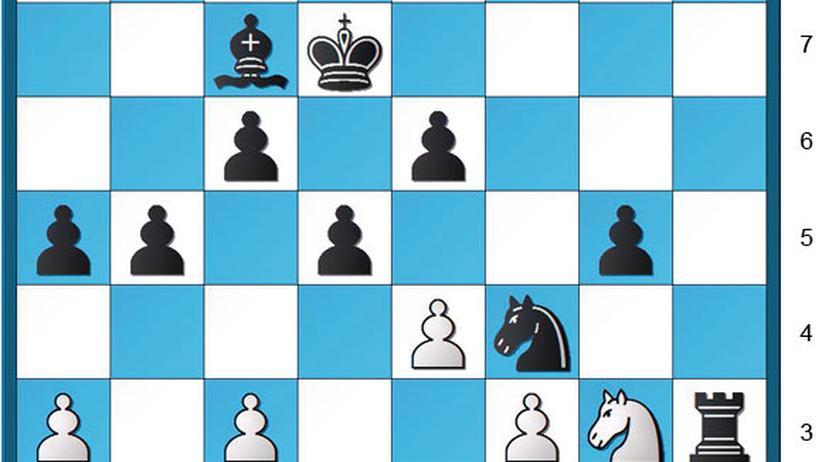 Schachaufgabe