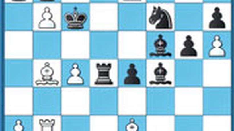 Schachlösung aus Nr. 6
