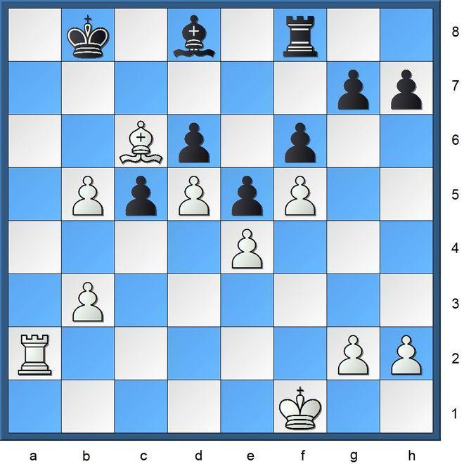 Schachlösung aus Nr. 18