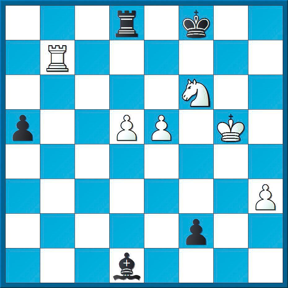 Schachlösung aus Nr. 20