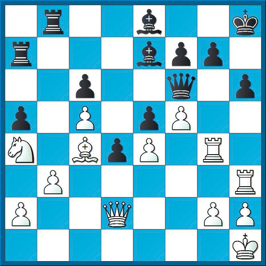 Schachlösung aus Nr. 21