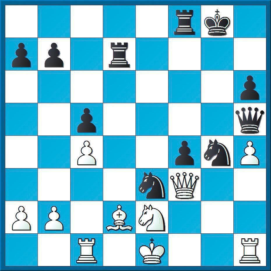 Schachlösung aus Nr. 24