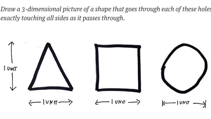 Rätsel Architekten Formen Räumliches Denken