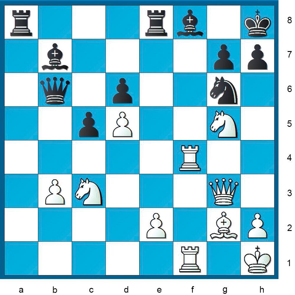 Schachaufgabe aus Nr. 21