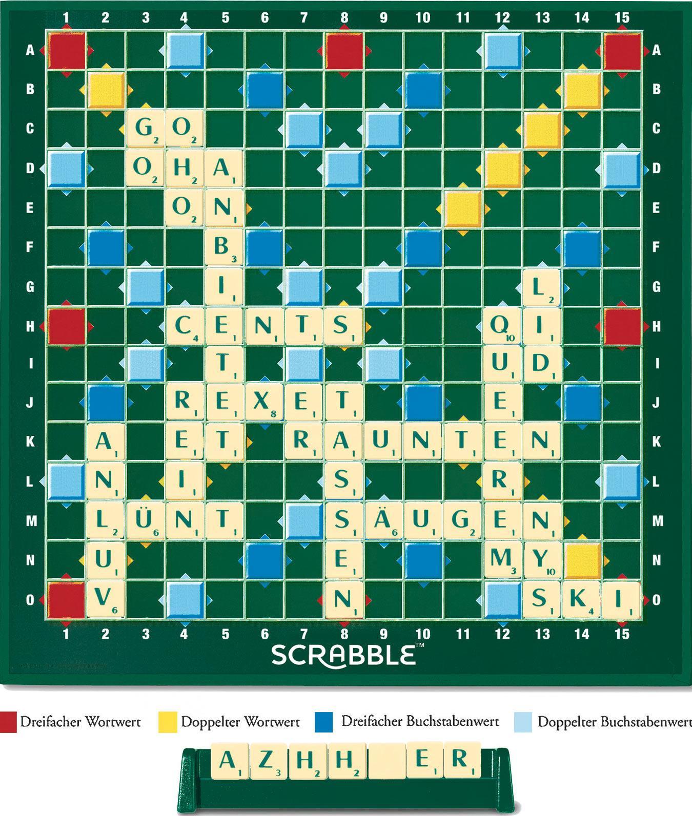 Brettspiel: Scrabble
