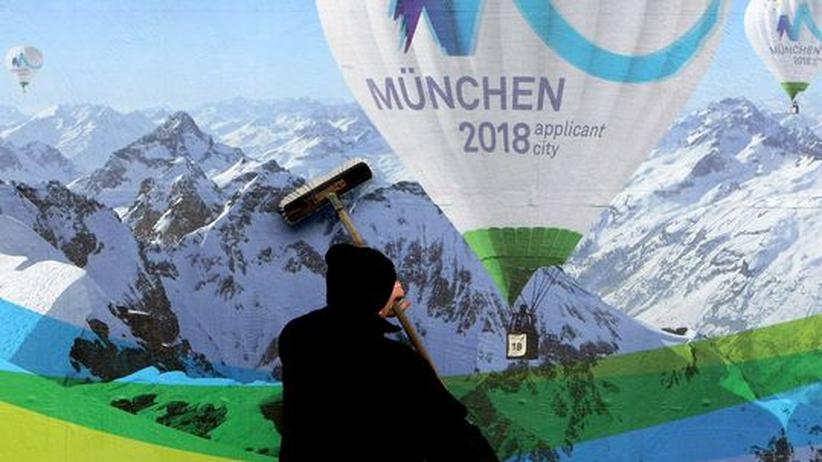 Mit der Präsentation seines Olympia-Logos startete München am Freitag in den Dreikampf mit Pyeongchang in Südkorea und dem französischen Annecy um die Ausrichtung der Olympischen Winterspiele 2018