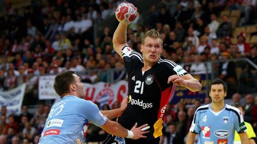 Handball-EM: DHB-Team erkämpft Unentschieden