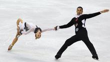 Liefen ihre Kür im Clownskostüm: Eiskunstlauf-Duo Savchenko/Szolkowy