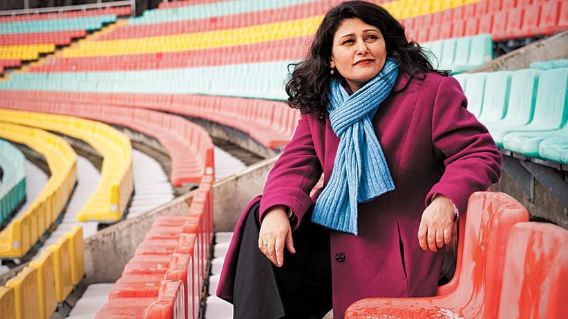 Homophobie im Fußball: Die Frau, die stört