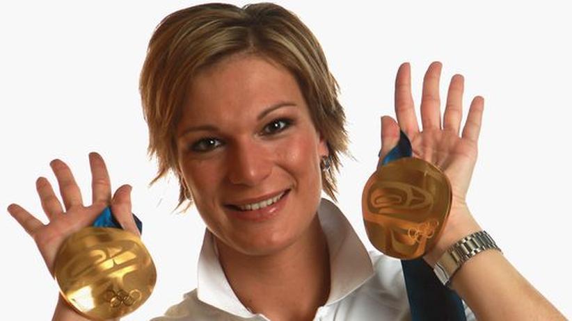 Sicherte sich zwei Goldmedaillen: Skifahrerin Maria Riesch