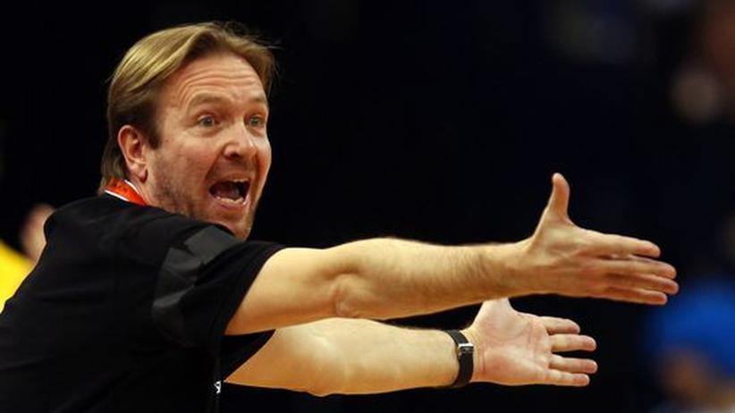 HSV Hamburg: Hamburgs Trainer Martin Schwalb in seinem Element