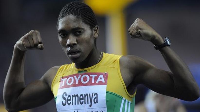 Der Fall Semenya: Die Sprinterin Caster Semenya hat männliche Merkmale. Ob sie trotz dieses Vorteils weiter starten darf, ist immer noch unklar