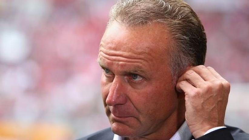 Karl-Heinz Rummenigge, der Vorstandsvorsitzende des FC Bayern München