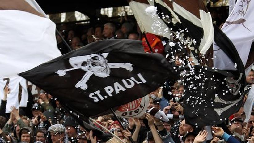 Die Fans des FC St. Pauli