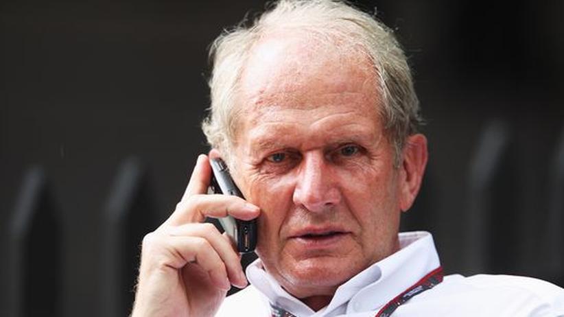 Helmut Marko ist Motorsportdirektor beim österreichisch-britischen Red Bull Racing-Team