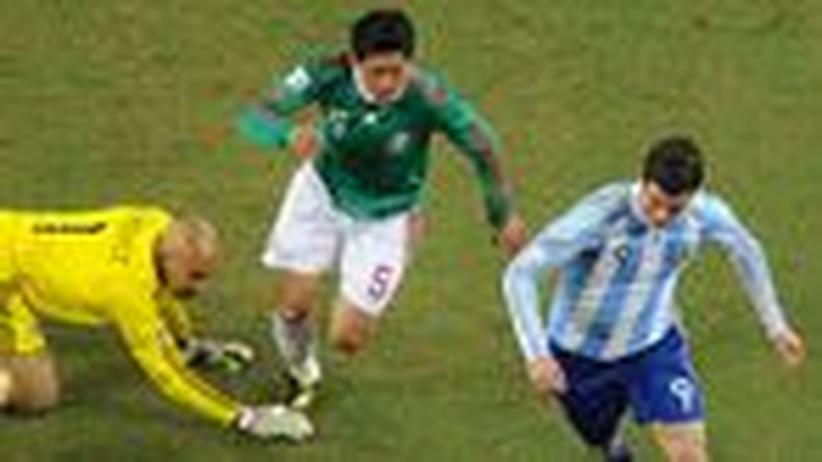 Argentinien – Mexiko: Wir üben uns in Milde, Milde, Milde