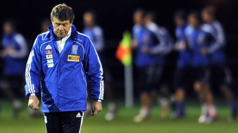 WM 2010: Rehhagel verlässt die Griechen