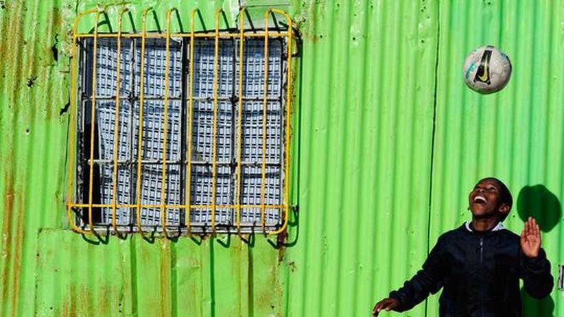 Fussball-WM: Die Vorfreude auf die WM im eigenen Land ist bei den Südafrikanern groß
