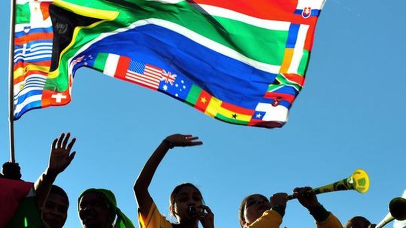 Durch den Fußball näher zusammen: Fans von Bafana Bafana