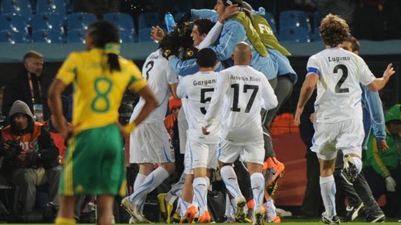 Südafrika-Uruguay: Südafrikas Niederlage trübt die Stimmung