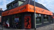 Das Café Robben in Bedum, dem Geburtsort von Arjen Robben