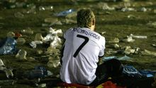 Weltuntergang? Für die Fans der deutschen Mannschaft ist zumindest die WM beendet
