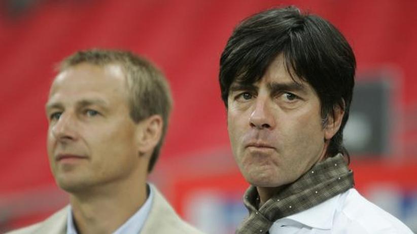 Väter des neuen deutschen Fußballs: Jürgen Klinsmann und Joachim Löw