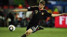 Mit dem Vollspan: Müller im Spiel um den dritten Platz