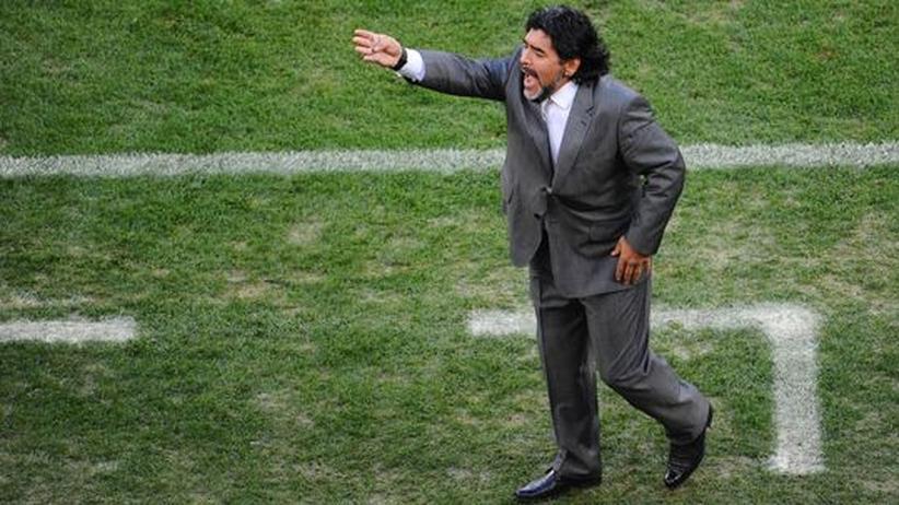 Nationaltrainer: Argentinien vertraut Maradona