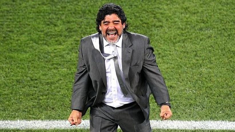 """Interview mit Maradona: """"Ich möchte der Letzte sein, der den Pokal küsst"""""""