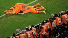Niederlande : Organisiert ins Finale gezittert